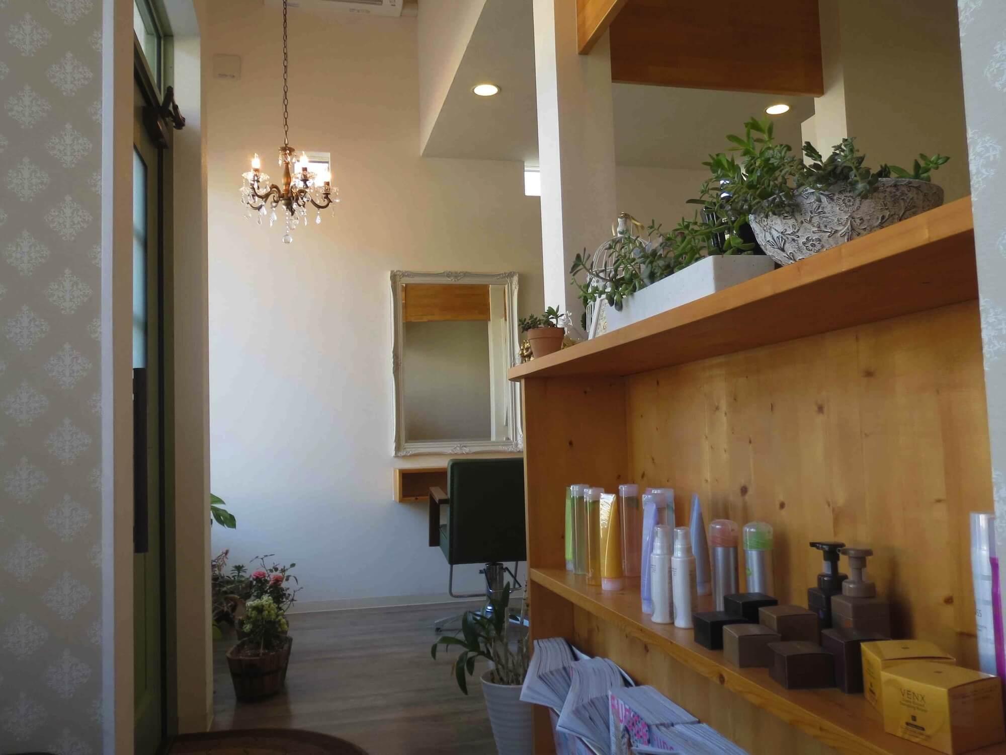 延岡市伊達町にある美容室COMFY(コンフィー)