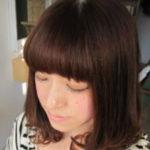 セミロングヘアーのヘアギャラリー