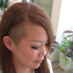 サイド刈り上げ個性的ロングヘアー☆